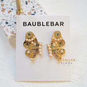BaubleBar Lady Button Butterfly Stud Earrings
